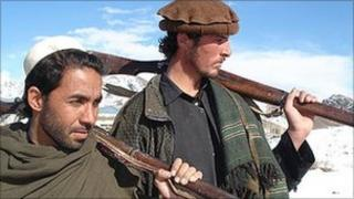 Tribal militiamen in Afghanistan (file photo from 2009)