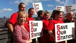 Conservative AM Suzy Davies joins protesters