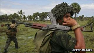 File photo of Sri Lankan soldiers