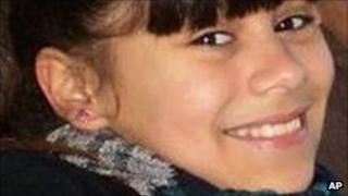 Undated photo released to the local media by the Rodriguez family, shows 11-year-old Candela