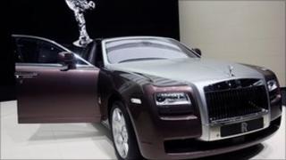 A 2009 Rolls-Royce Ghost