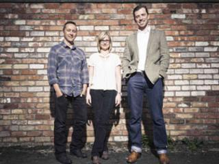 Frank Creative Director Stephen Shaw, Frank Account Director Jacqueline McSwiney and Frank founder and CEO, Damian Cranney