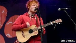 Ed Sheeran at Latitude Festival 2011, by Jen O'Neill