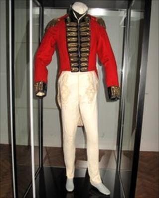 Napoleonic sapper uniform