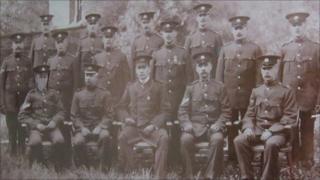 Dumfries Burgh Police in 1911