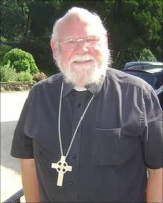 The Bishop of Burnley, the Right Reverend John Goddard