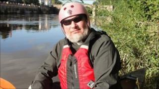 Canoeing vicar Kevin Cecil