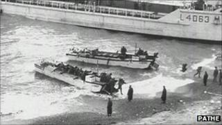 WW11 landing craft