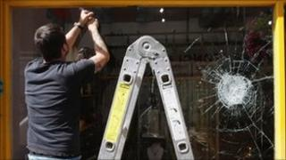 Window being replaced in Ealing, West London