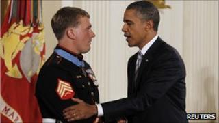 Sgt Dakota Meyer is awarded the Medal of Honor