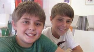 Max and Joe Potter