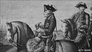 Frederick the Great on Horseback