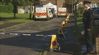 Peterlee murder scene
