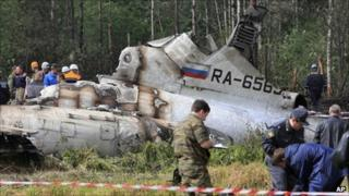 Investigators say the navigator of the Russian plane gave orders to the pilot