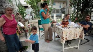 A Greek family