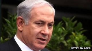 Israeli Prime Minister Benjamin Netanyahu - 15 September 2011