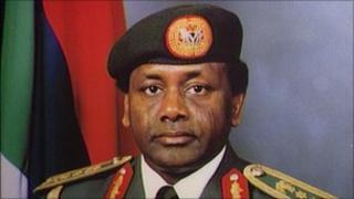 Sani Abacha Nigerian President 1993-1998