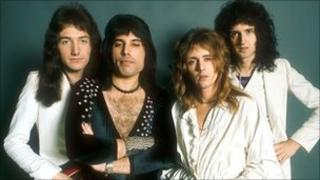 Queen in 1970