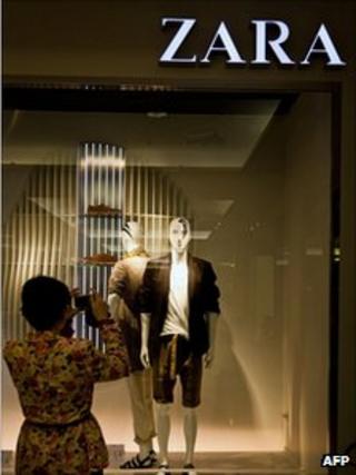 Zara shopfront