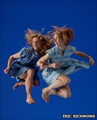 Dancers from the Rambert Dance Company