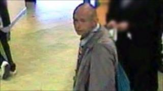 CCTV image of man police want to speak to
