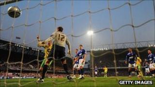 Ipswich Town v Norwich City - Gareth McAuley own goal, April 2011