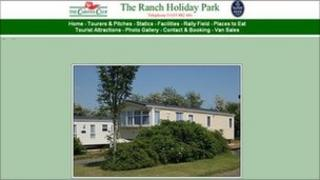 The Ranch Holiday Park website