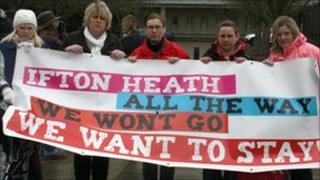 Ifton Heath schools campaigners