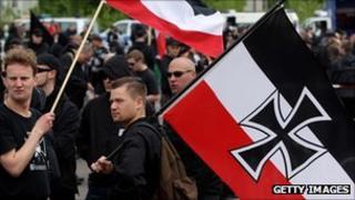 Berlin May Day neo-Nazi demonstration 2010