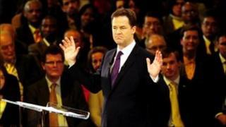 Nick Clegg conference speech