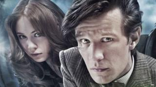 Matt smith and Karen Gillan in Doctor Who