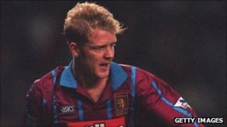Phil King pictured playing for Aston Villa in 1994