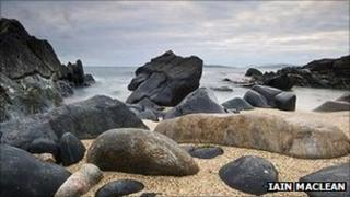 Rocks on Harris. Pic: Iain MacLean