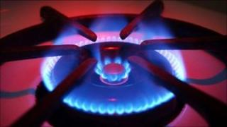 File image of a gas flame