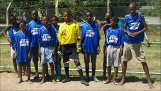 Football team in South Africa