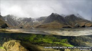 Llyn Idwal picture that won British Wildlife Photography Award