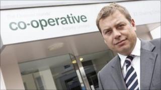 Colin Macleod, Chief Executive of The Co-operative Society