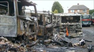 Beadlow arson