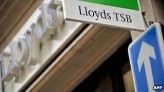 Lloyds Bank signage