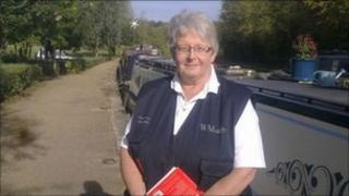 Senior Waterways Chaplain, Captain Jenny Dibsdall