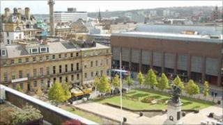 Old Eldon Square, Newcastle upon Tyne