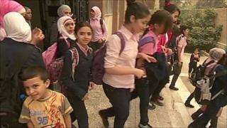 Damascus schoolgirls