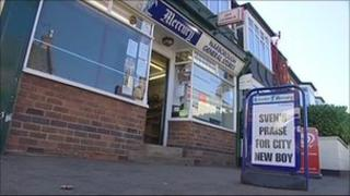 Newsagents in Narborough, Leicestershire
