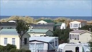 Silver Sands caravan park