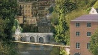 Proposed new bridge in Bradford on Avon