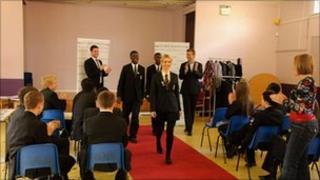 Pupils experience a Model Education session