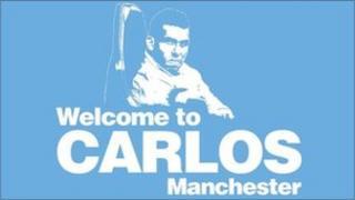 Carlos Tevez poster