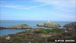 Strumble Head in Pembrokeshire Coast National Park