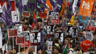 March for the Alternative, Manchester
