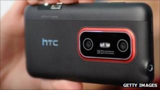 The HTC EVO 3D